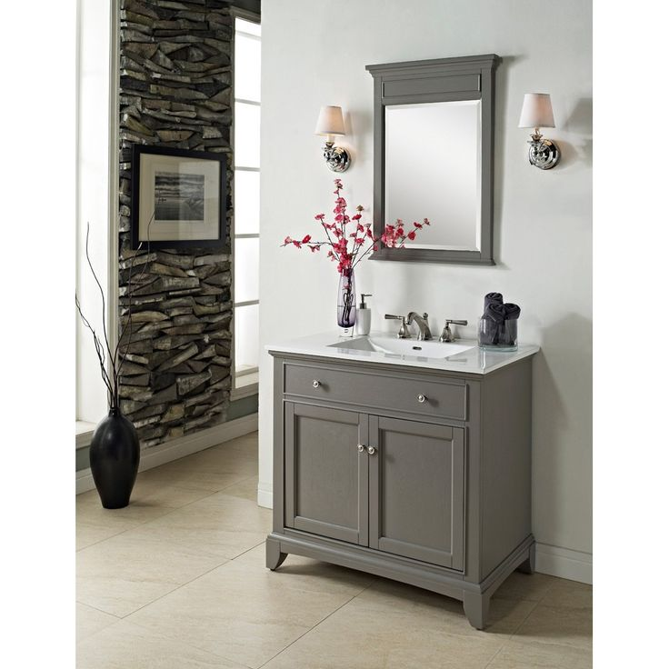 Photo Of Fairmont Designs Smithfield Vanity Medium Gray Bathroom Vanities Only