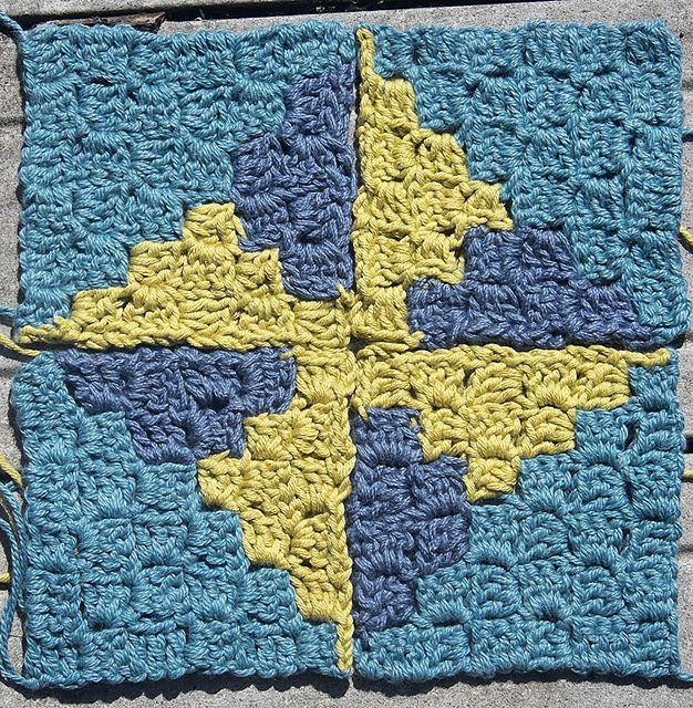 Knitting A Rectangle On The Bias : Best images about corner start and bias crochet on