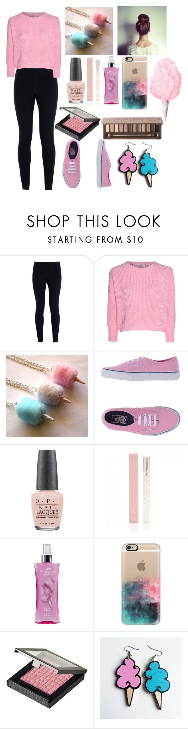 """""""Cotton Candy"""" by fashiongirl3034 on Polyvore featuring NIKE, Glamorous, Cotton Candy, Vans, OPI, Forever New, Casetify, MAKE UP STORE, Junk Food Clothing and Urban Decay"""