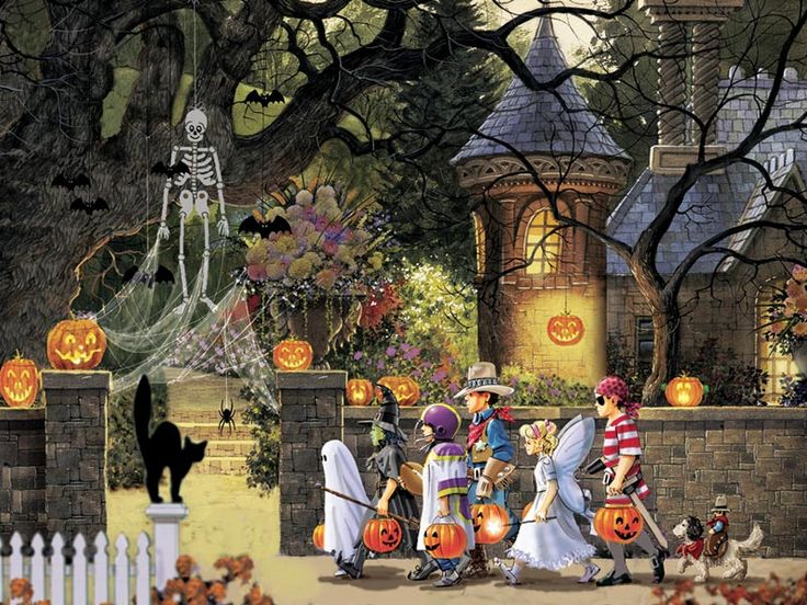 halloween jigsaw puzzles for adults
