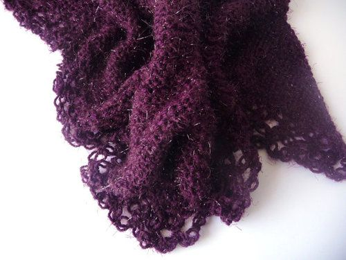Purple Plum Shawl