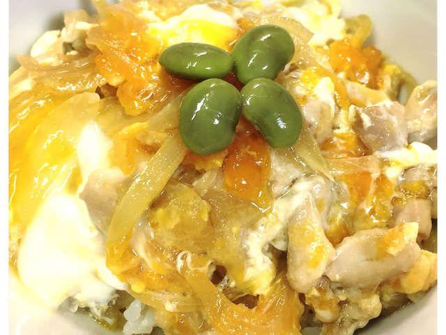 丼 レシピ めんつゆ 親子 めんつゆを使った、簡単・おいしい・高タンパクな親子丼のレシピ