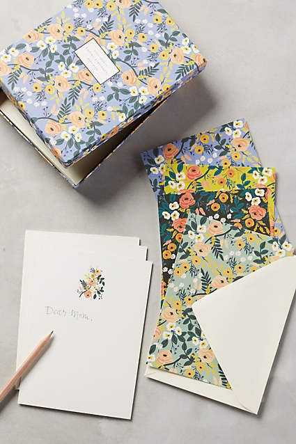 Social Stationery - anthropologie.com #anthrofave #anthropologie