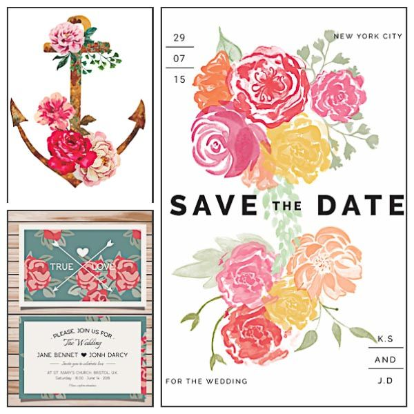 429 best Free Wedding Invitation Cards and Elements for Design - invitation designs free download