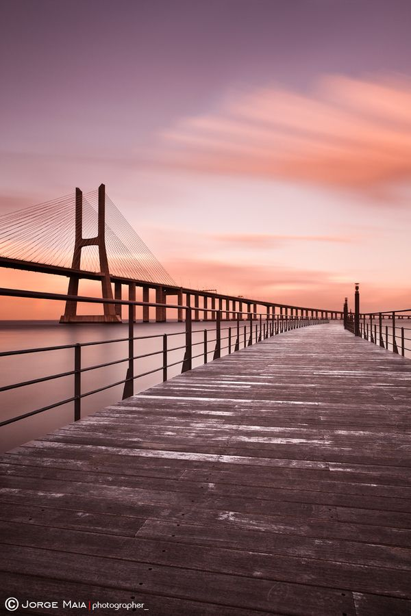 Sunset colors  by Jorge Maia - (Parque das Nações, Lisbon, portugal