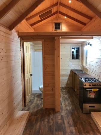 This is a Beautiful Craftsman Tiny House for sale near Jacksonville, Oregon. Inside it features Gorman pine walls, a loft bedroom with a skylight, and the often-desired flush toilet! Right now its …