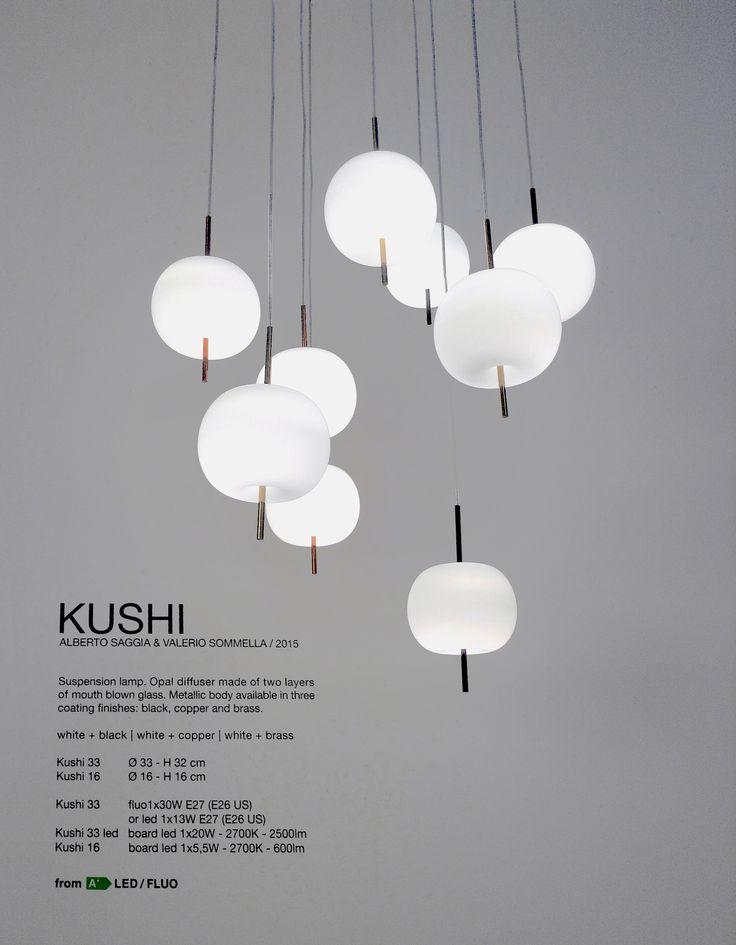 Kushi suspension design alberto saggia valerio sommella 2015 ceiling lightinglight