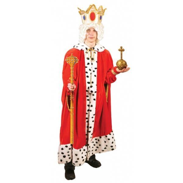 Костюм короля для взрослих