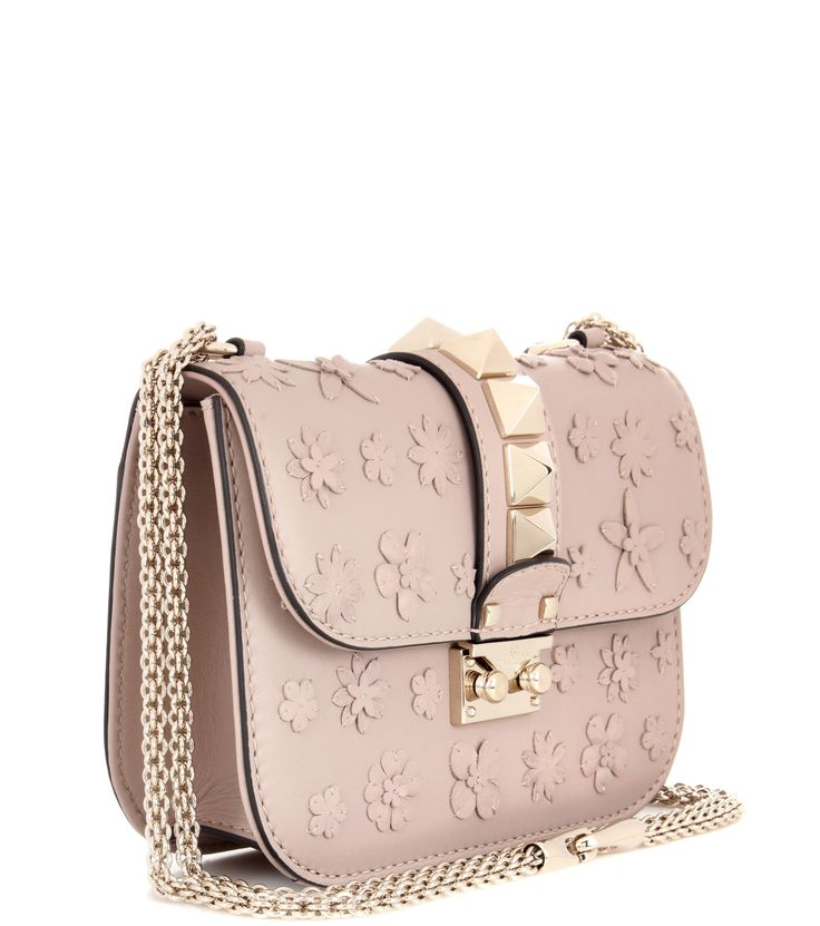 mytheresa.com - Valentino Garavani Rockstud leather crossbody bag - Luxury Fashion for Women / Designer clothing, shoes, bags