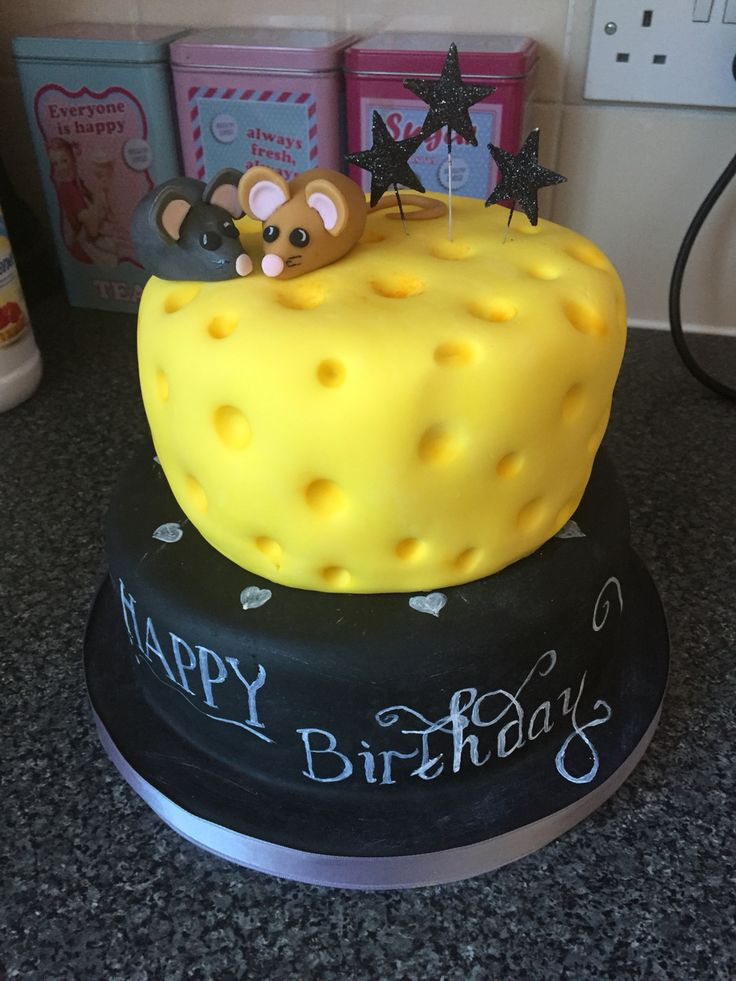 Simple cake for twins