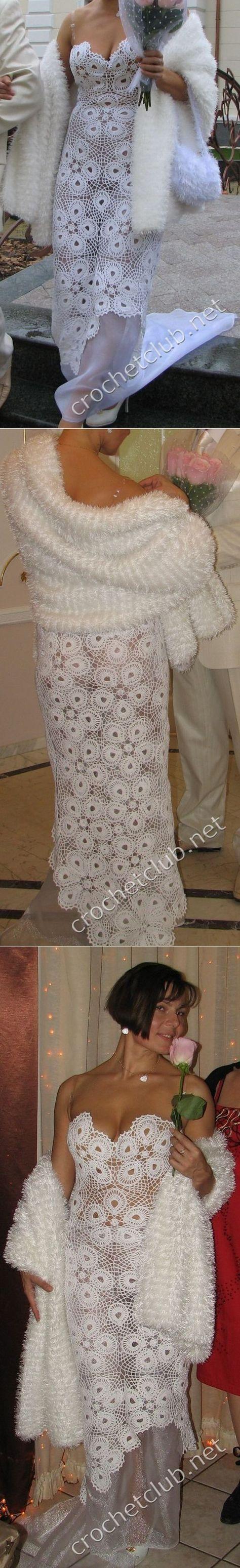 Платье крючком |