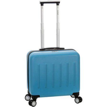 Rockland Pelican Hill Rolling Laptop Case, Blue