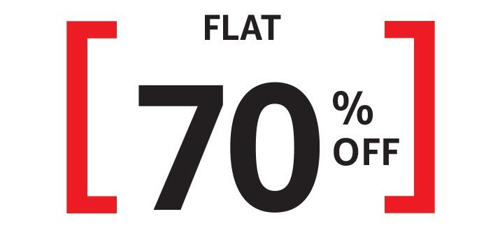 Now Live:- Get Flat 40%  70% OFF on Top Selling Brands  20% Cashback  Free Shipping
