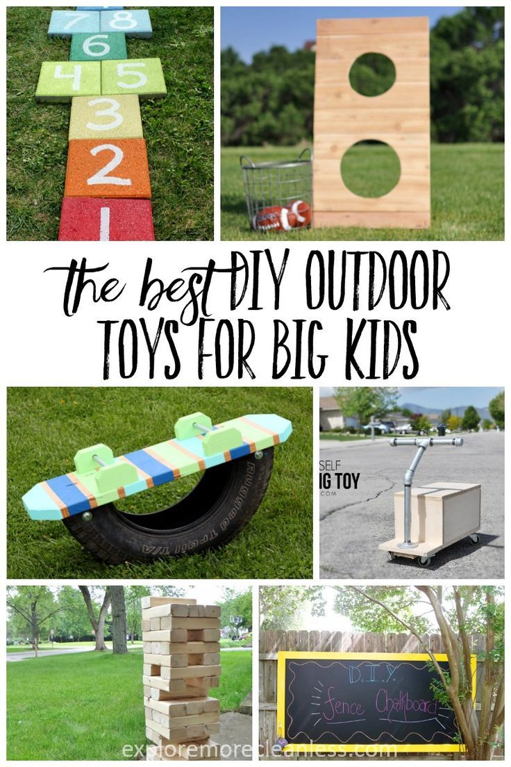 25 Outdoor Toys For Big Kids Outdoor Toys For Kids Backyard Toys Diy Outdoor Toys