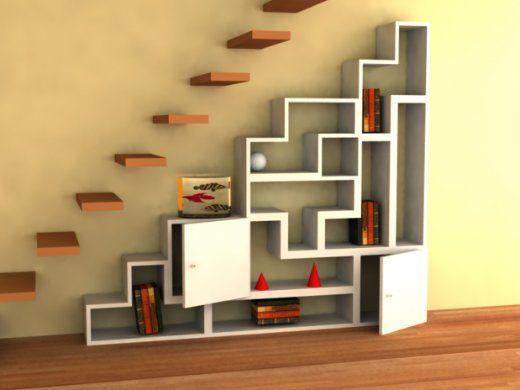 Decoraci n de escaleras decorar escalera escalera - Escalera de buhardilla ...