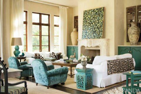 Well-Lived: Mediterranean-Style Texas Home #MichelleMillerREALTOR® #http://michellemiller2.xactsite.com/ #FrederickMaryland #REALTOR®