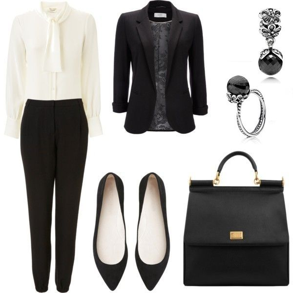 A Black Blazer is a quick go to when your in a rush, and can go with any ensemble. We are pairing a simple black blazer and creme outfit with the Black Spinel Collections from Pandora!