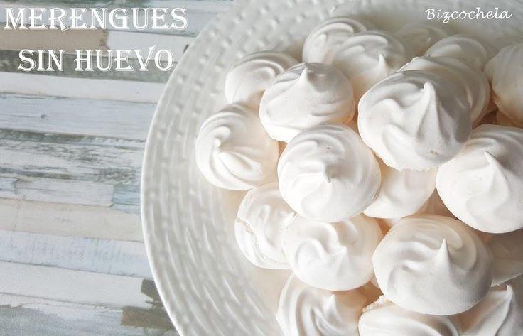 Descubre cuál es el ingrediente 'secreto' que usan en el blog RECETAS Y A COCINAR SE HA DICHO para preparar unos merengues sin usar huevo.