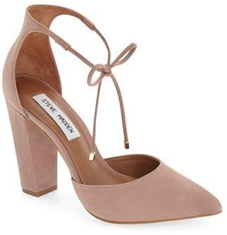 Women's Steve Madden Pamperd Lace-Up Pump