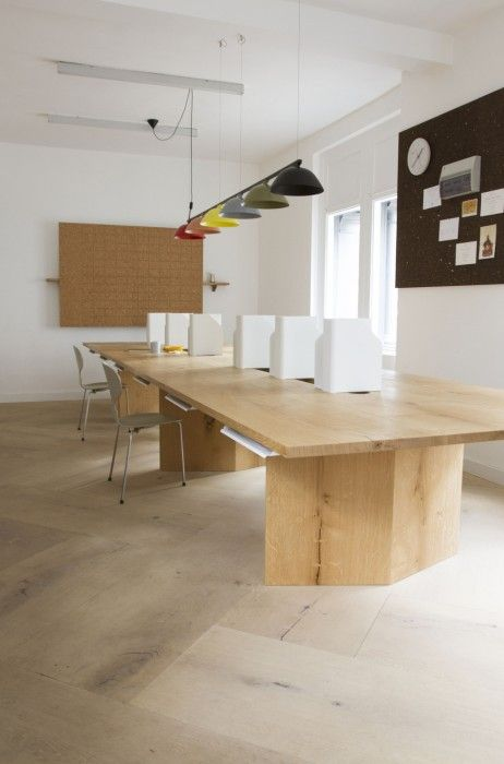 Behind the project | A handcrafted office