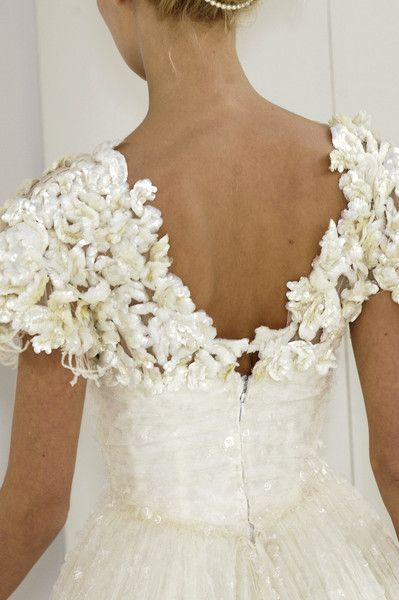 Chanel at Couture ?..beautiful details!