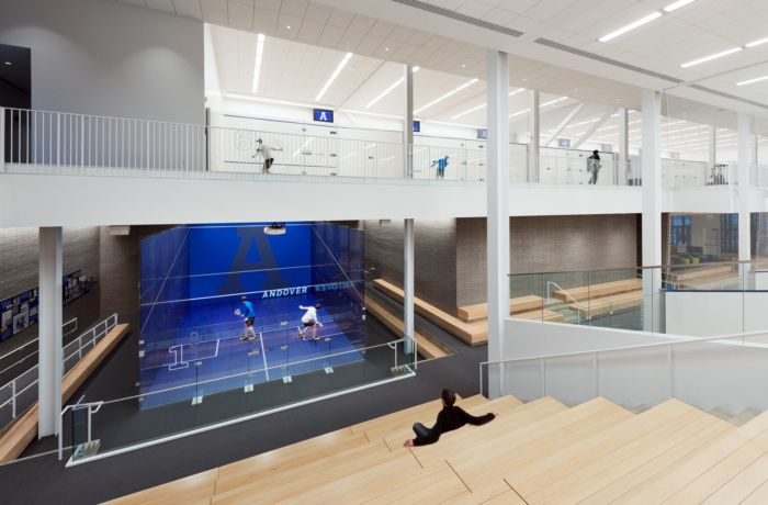 Phillips Academy Andover Athletic Facilities Master Plan And Snyder Center Education Snapshots Andover Academy Education Design Interior Master Plan