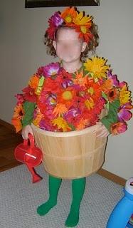 Flower pot costume!
