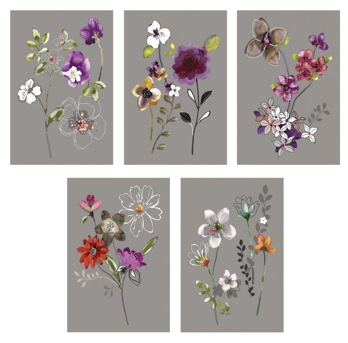 KORT art cards, city flowers #IKEA #PinToWin. Frame these for the hallway bath