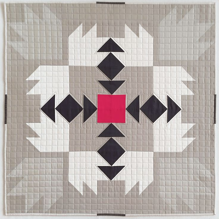 This quilt was technically finished in August, but I'm just now getting a chance to post it to the blog. During the summer, Shannon Page did a webinar on taking traditional blocks and modifyi…