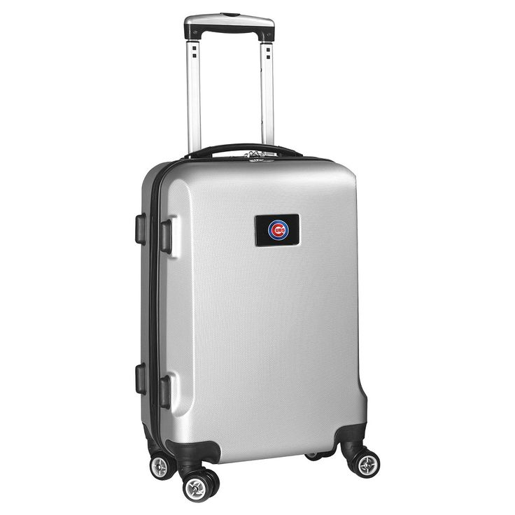 MLB Chicago Cubs Carry-On Hardcase Spinner - Silver