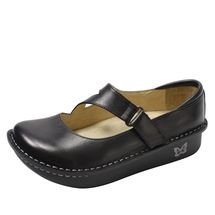 Alegria by PG Lite Dayna Mary Jane(Women's) -Tile Me More Black Leather Cheap Sale Prices Clearance Outlet Store Very Cheap For Sale jVCyY
