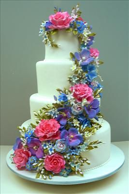 colette's cakes | decorative cakes for all occasions......love the colors
