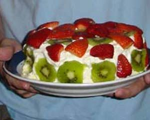 Grandma Taylor's Pavlova Recipe - New Zealand Dessert Recipe at KiwiWise