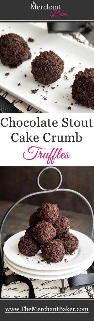 Chocolate Stout Cake Crumb Truffles #Delicious #Food #BuffaloBucksCoffee