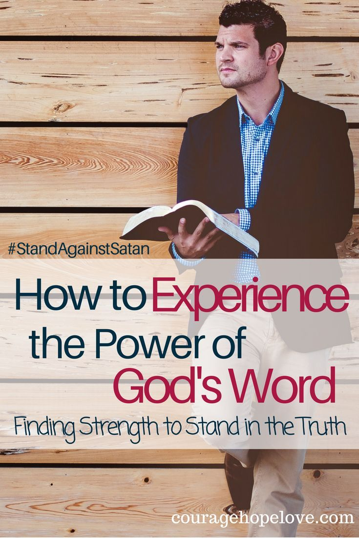 What is the difference between simply reading God's word and taking on the divine power it has to offer? He wants you to step into His light and take hold of His power. / Power of God's Word / Bible Truths /