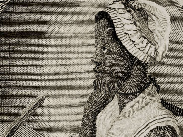Phillis Wheatley's book of poetry was published in 1773.