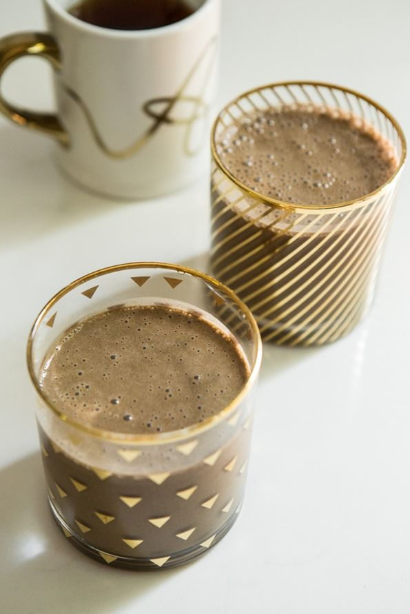 how to make a protein shake with chocolate protein powder