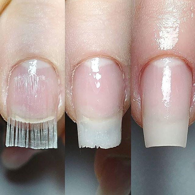 Pin De Neliangela D Alessandri Em Nails Em 2020 Unha De Fibra Unhas