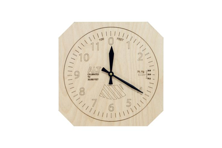 Laser engraved Wall Clock
