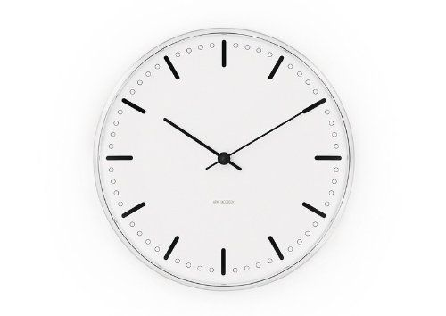 Arne Jacobsen City Hall Clock, 290mm