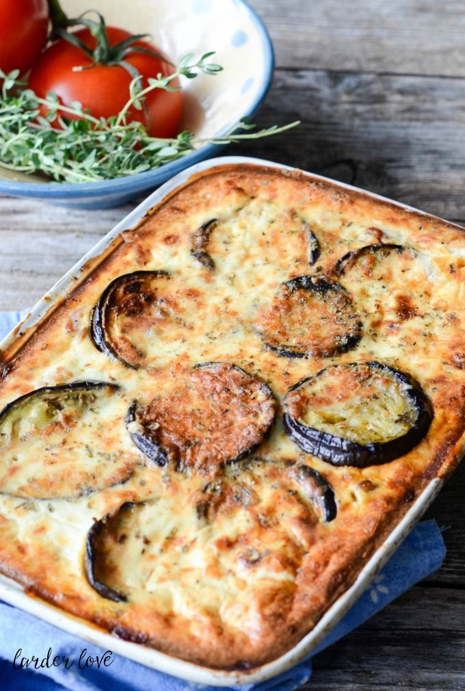 An easy vegetarian moussaka recipe that will make the most confirmed carnivore smile, by larder love