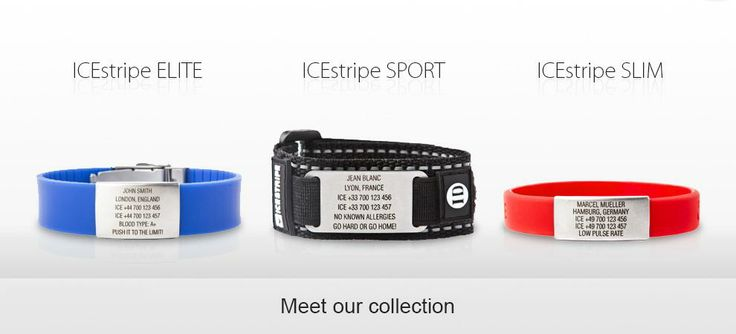Meet collection of ICEstripe wristbands