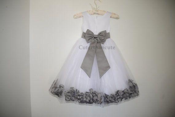 Flower Girl Dress Bridesmaid Summer Easter by cuterthancutedresses