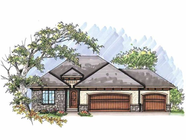 11 best house plans images on pinterest ranch home plans for Unique european house plans
