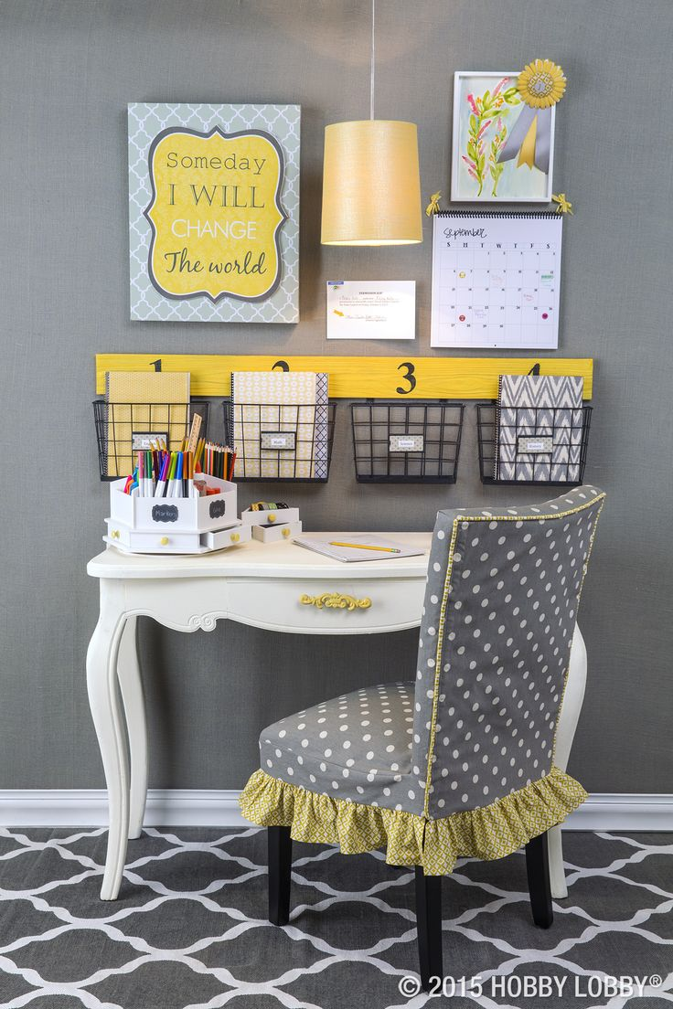 Start the new school year right! Create an organized homework station to keep your favorite student on track.