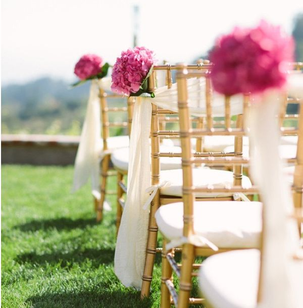 Altar Decoration For Chairs: 49 Best Outdoor Ceremony Decor Ideas Images On Pinterest