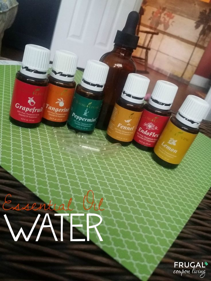 Essentail Oil Water - Grapefruit, Tangerine, Citrus Fresh, Fennel, Endo Flex, Pine Lemon and Peppermint Essential Oils. Mix with plenty of water. Full recipe on Frugal Coupon Living. Boasted Metabolism, Detox Your Body, and Curb Appetite. Another weight loss and detox essentail recipe too!