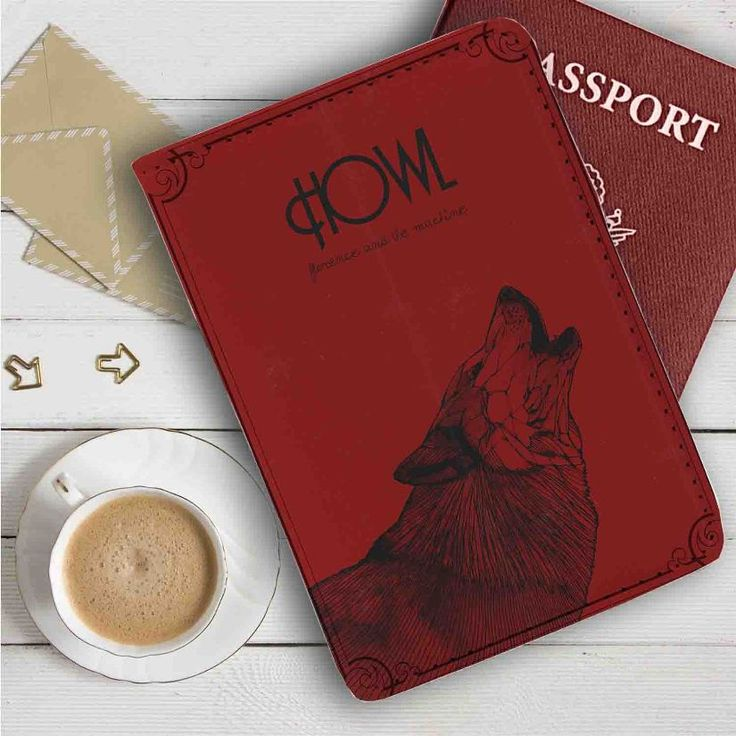 Florence and The Machine Howl Leather Passport Wallet Case Cover