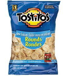 Tostitos® Low Sodium Rounds Tortilla Chips #InspireTheSeason