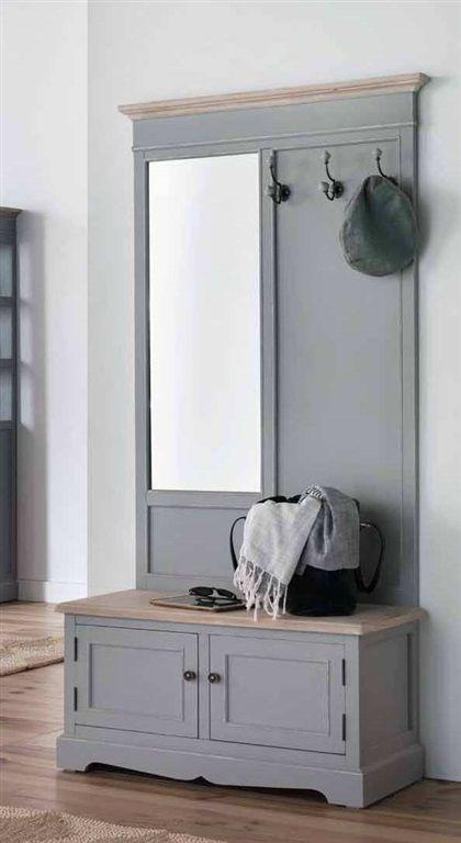Hempsted Mirror Hall Stand www.simpletaste.pt